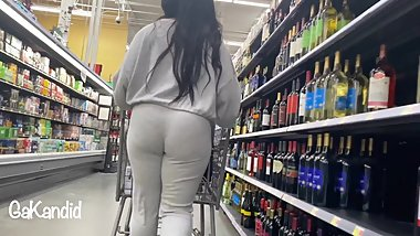 Hot Grey Outfit Slim Lady