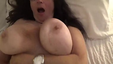 Busty Mature Mega Boobs Bouncing While Getting Fucked POV