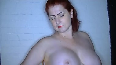 Striptease - I am stripping for you in my 60s outfit with nylons and suspenders