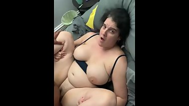 Fat White Pussy CREAMY